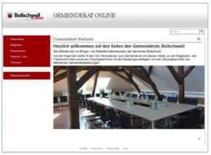 Referenz Gemeinde Bolllschweil