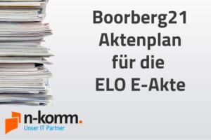 Boorberg21 Aktenplan in ELO E-Akte